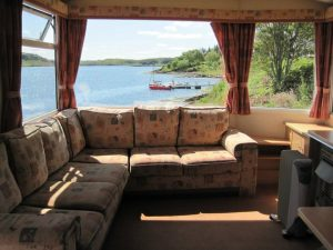 Sunnybrae Caravan Park, Living room-Oban-Isle Of Luing-Accommodation-Caravan Parks and Hostels-Self Catering-Scotland
