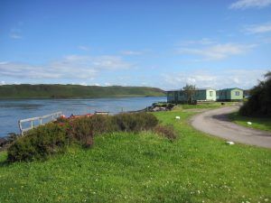 Sunnybrae Caravan Park, View-Oban-Isle Of Luing-Accommodation-Caravan Parks and Hostels-Self Catering-Scotland