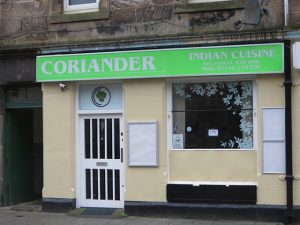 Coriander Restaurant,exterior-Oban-Where To Eat-Restaurants-Scotland