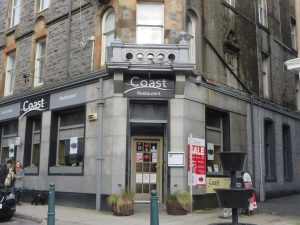 Coast,Exterior-Oban-Where To Eat-Restaurants-Scotland