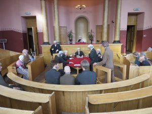 Inveraray Jail,Court Room-Nr Oban-What To Do-Attractions-Scotland