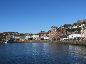 Region-Oban Centre-Oban Bay-Scotland