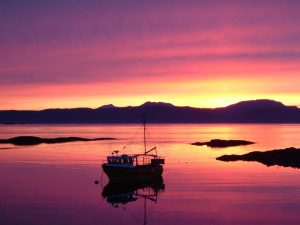 Isle Of Luing,Sunset View-Oban-What To Do-The Sea-Scotland