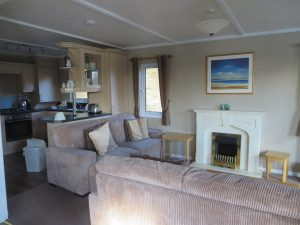 Tralee Bay Holiday Park, Living Room-Oban-Accommodation-Caravan Parks and Hostels-Self Catering-Scotland