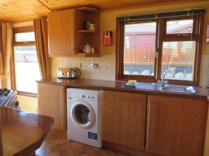 Tralee Bay Holiday Park,Kitchen-Oban-Accommodation-Caravan Parks and Hostels-Self Catering-Scotland
