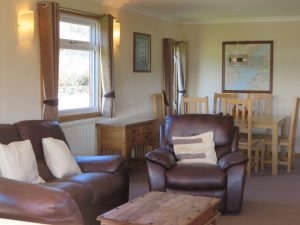 Tralee Bay Holiday Park,Living Room-Oban-Accommodation-Caravan Parks and Hostels-Self Catering-Scotland