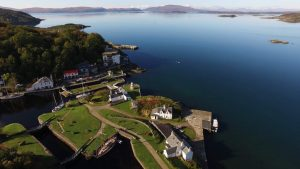 The Crinan Canal Hotel, Accommodation and where to stay, Hotels, Nr Oban , Scotland