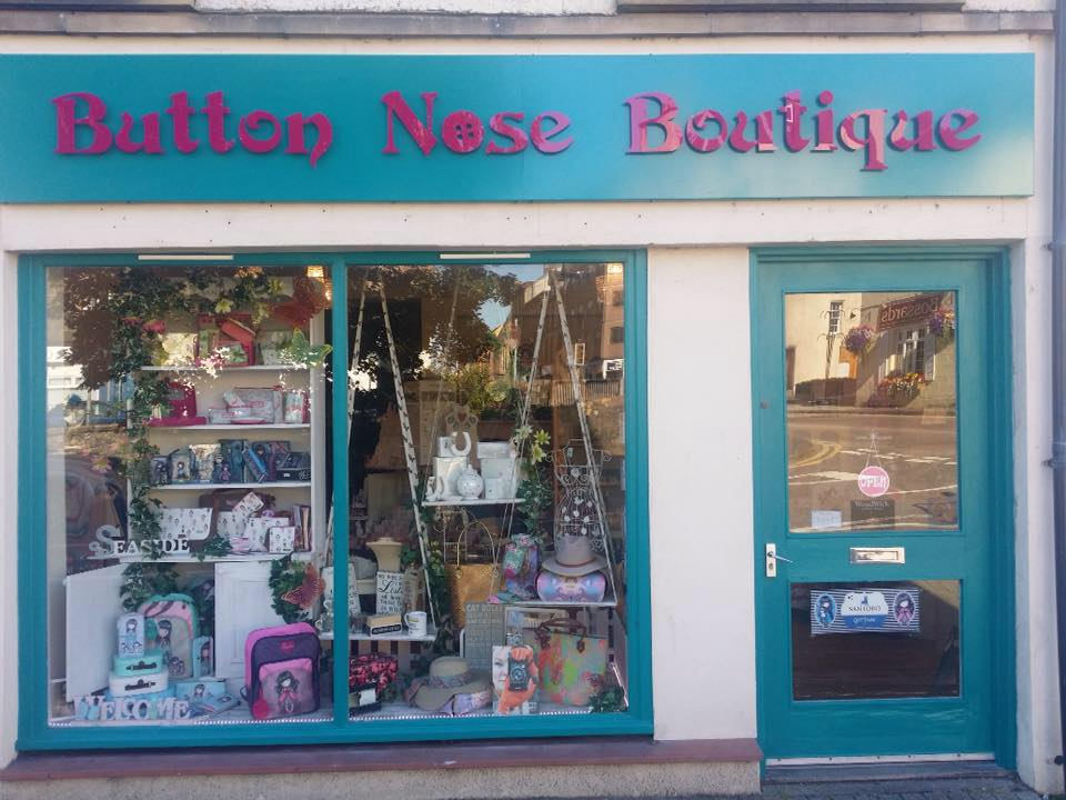 Button Nose Boutique Oban Exterior,Shops, Gifts and Galleries, Oban, Argyll