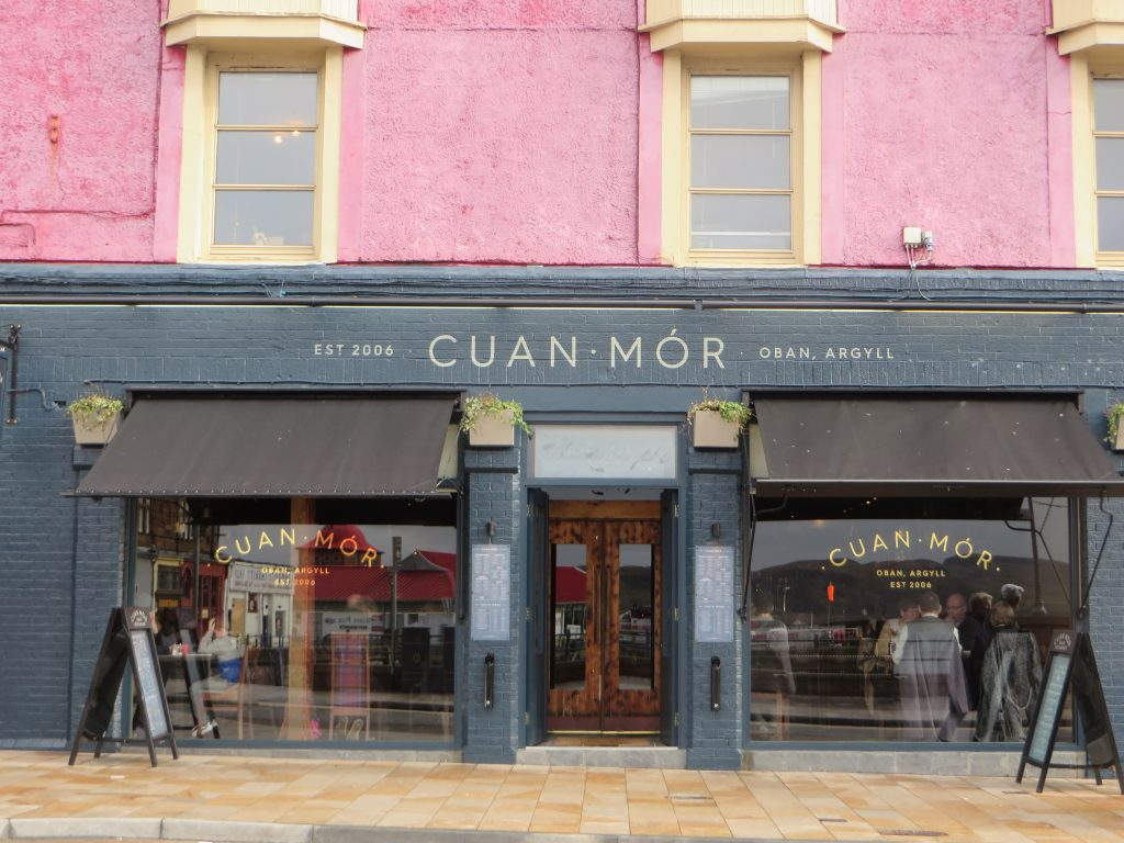 Cuan Mor-Oban-Where To Eat-Restaurants-Scotland