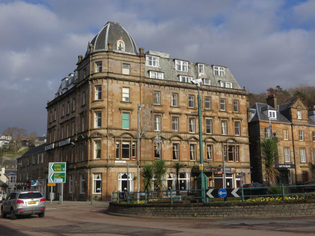 The Royal Hotel,Exterior-Oban-Accommodation-Hotels-Scotland