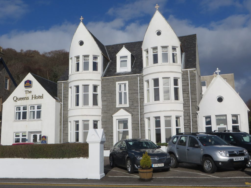 The Queens Hotel-Oban-Accommodation-Hotels-Scotland