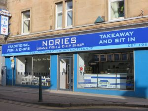 Nories Fish & Chips,Exterior-Oban-Where To Eat Restaurants & Cafes-Scotland