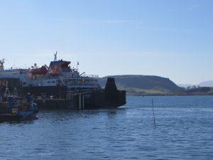 Region-Oban Centre-Oban Ferry-Scotland