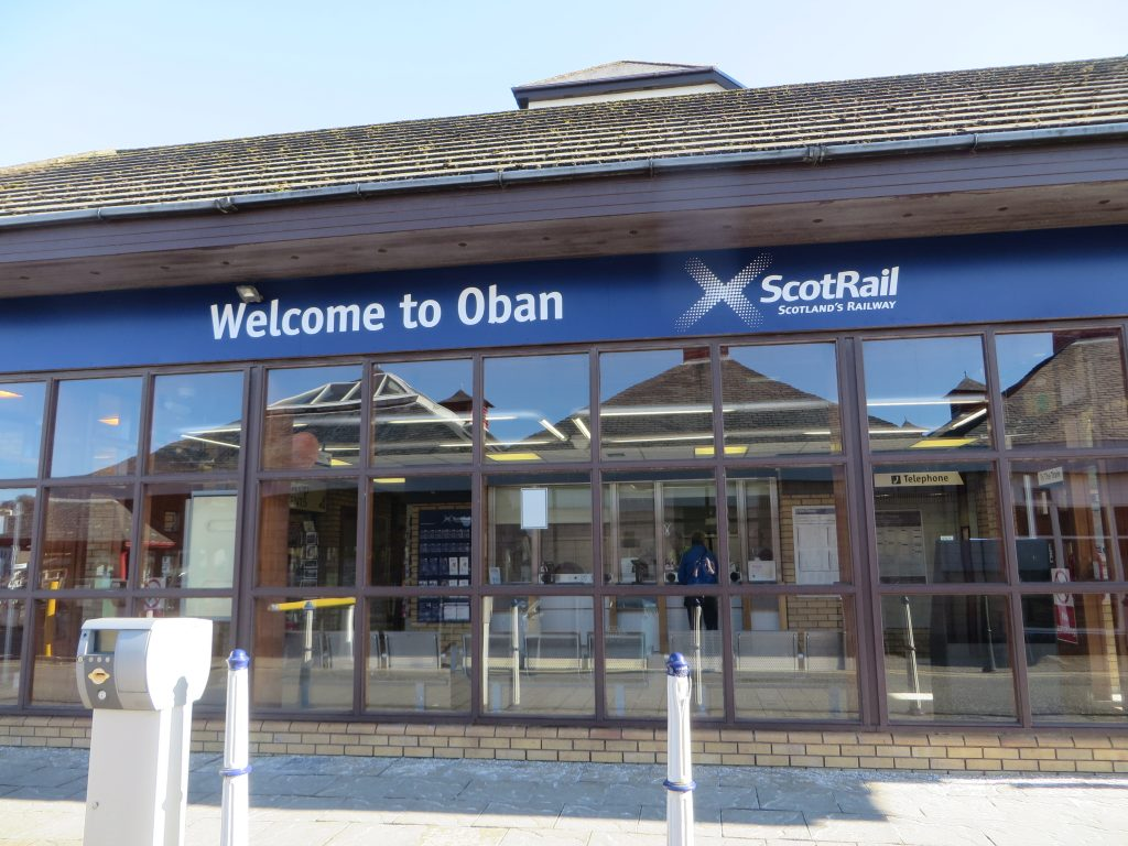 Region-Oban Centre-Oban Train Station-Scotland