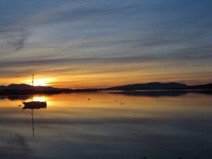 Regions-Oban North-Sunset-Oban Scotland
