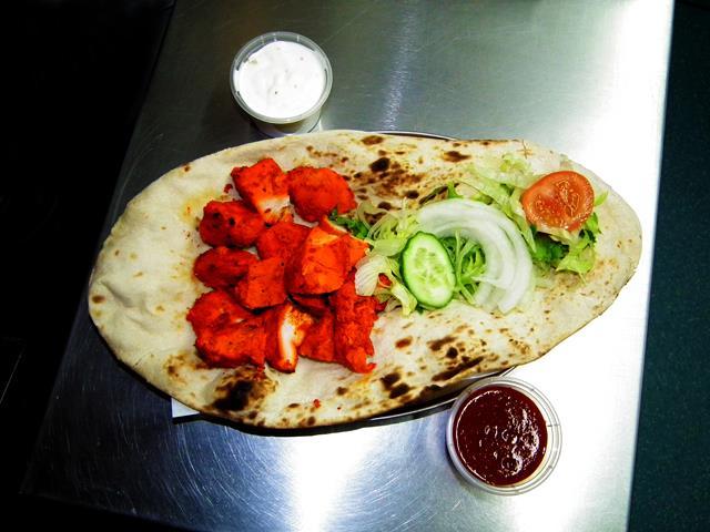 Kebabish Of Oban,Chicken Tikka Naan-Oban-Where To Eat-Restaurants-Scotland