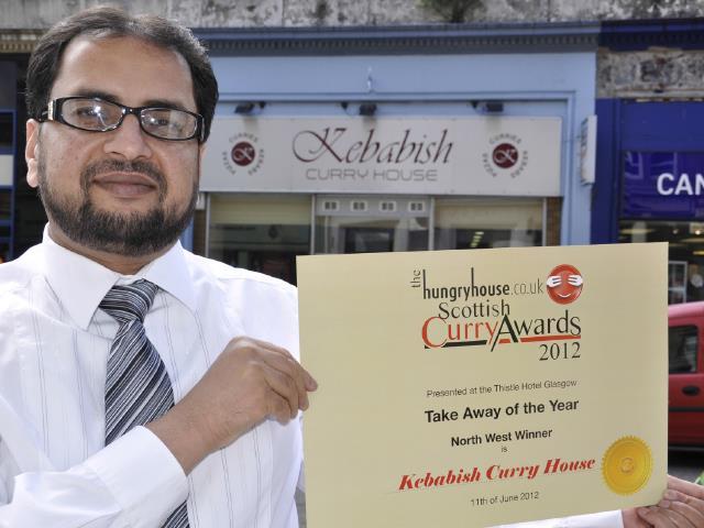 Kebabish Of Oban,Awards-Oban-Where To Eat-Restaurants-Scotland
