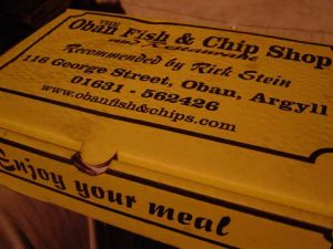 Oban Fish & Chip Shop,Served In A Box-Oban-Where To Eat-Restaurants-Scotland