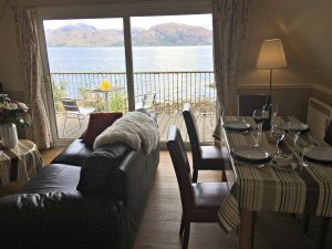 Loch Linnhe Waterfront Lodges, Accommodation and where to stay, Self Catering, Kentallin nr Oban, Scotland