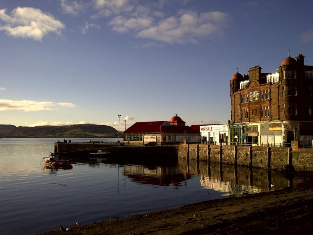 Columba Hotel Oban, Accommodation, Where to Stay