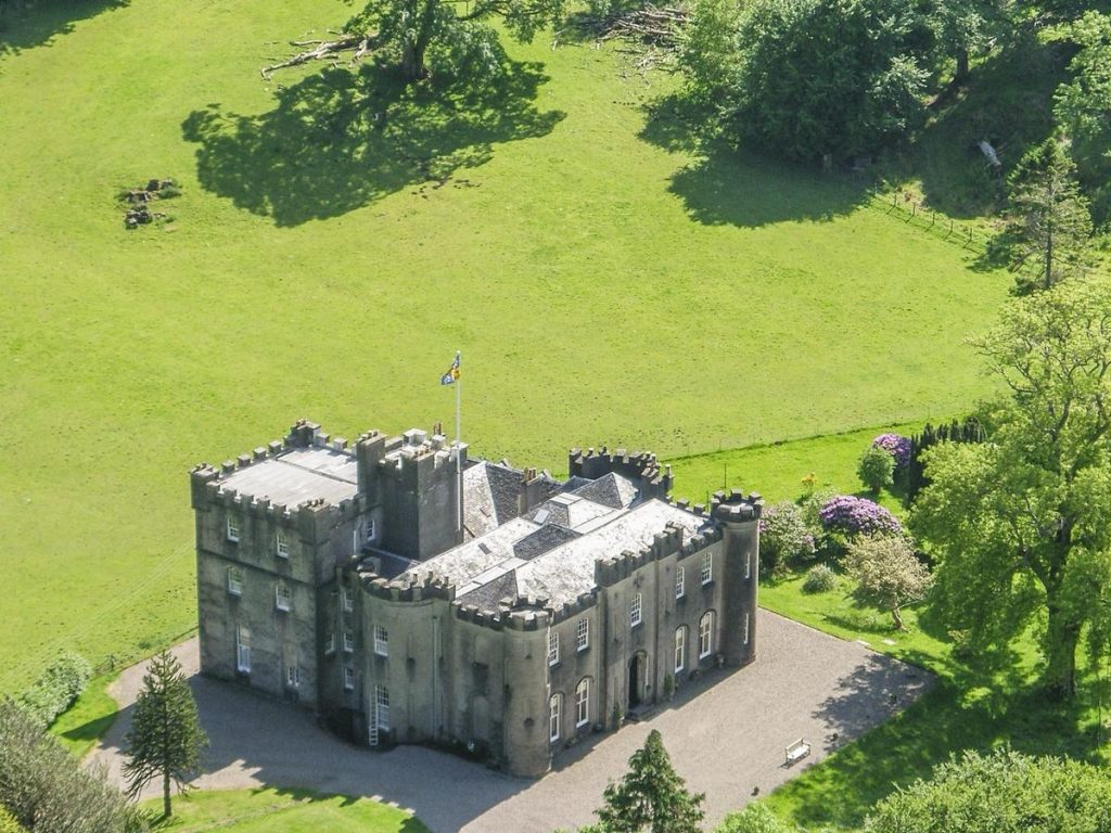 gallanch Castle Garden Wing,Accommodation, Self Catering ,Oban,Scotland