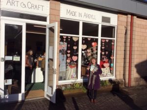 Made In Argyll, Shops, Crafters,Oban Scotland