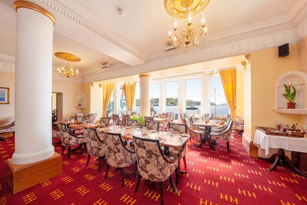 The Sailor Bar and Restaurant , Oban, Alexandra Hotel, Restaurants, Eating Out, Scotland