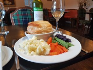 Hawthorn Restaurant, Eating Out, Benderloch nr Oban, Argyll, Scotland