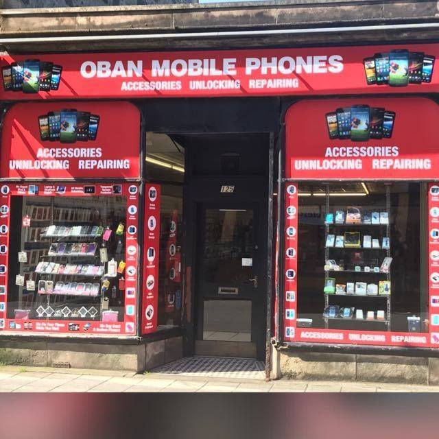 Oban Mobile Phone Shop,Shops and Services, Oban, Argyll ,Scotland