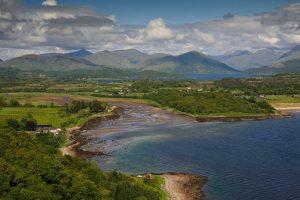 Tralee Bay,Accommodation,Caravan Parks, Benderloch near Oban, Argyll, Scotland