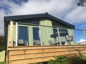 Gunnera-Lodge, Sunnybrae Caravan Park, Luing, Nr Oban, Argyll, Scotland